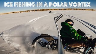 Ice Fishing for the first time during a Polar Vortex on a Bowhead Reach || Will it Reach? EP6