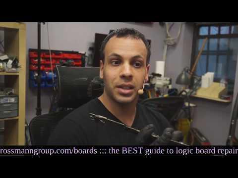 Touchbar Macbook Pro logic board repair: Not turning on