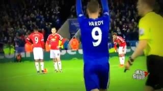 Leicester City vs Manchester United 1 1 All Goals 2015/16