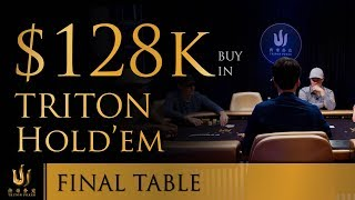 Triton Poker Series JEJU 2018 - Short Deck Ante-only $128K Buy-In 2/2