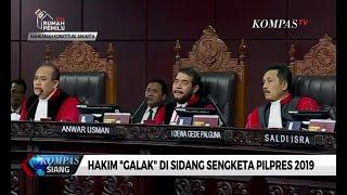 """Inilah Bukti 9 Hakim """"Galak"""" di Sidang Sengketa Pilpres 2019"""