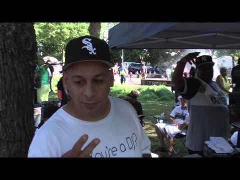 Crotona Park 2015 Old Timers Day. (no audio)