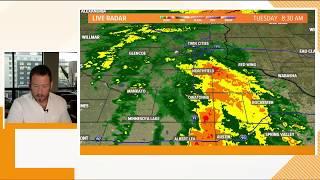 WATCH LIVE: KARE 11 weather update with Sven Sundgaard