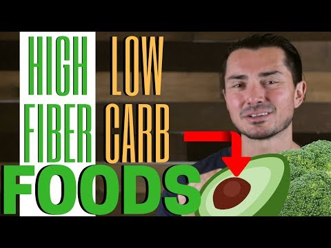 TOP 3 BEST High-Fiber and Low-Carb Foods in 2019