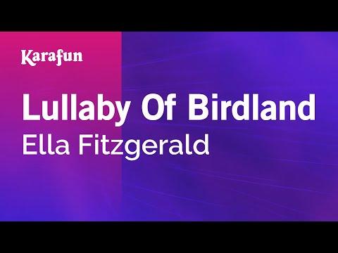 Karaoke Lullaby Of Birdland - Ella Fitzgerald *