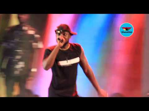 Yaa Pono thrills fans at Rapperholic concert