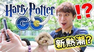 【HARRY POTTER GO🧙♂️!?】POKEMON GO公司新AR遊戲!手機變魔杖!😍再掀新熱潮嗎?(中文字幕)