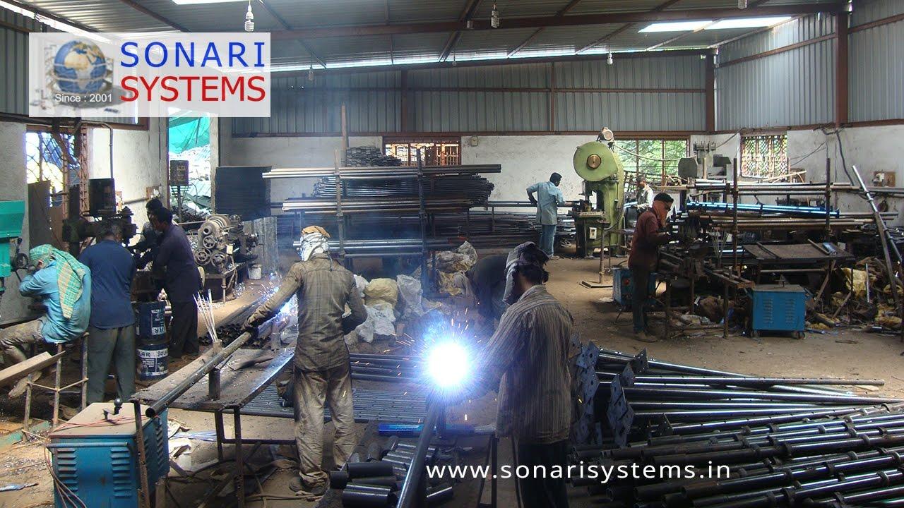 Một cơ sở sản xuất cây chống tăng giàn giáo ở nước ngoài