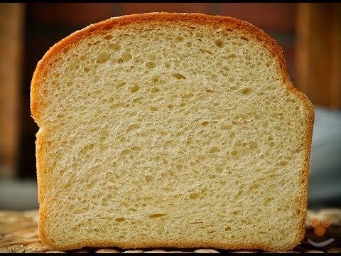 белый хлеб в духовке видео