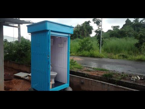Full Frp Product Bio Toilet
