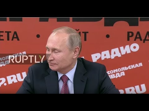 LIVE: Putin meets with representatives of Russian media