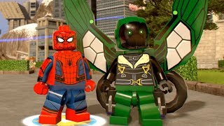 LEGO Marvel Super Heroes 2 - All Spider-Man Homecoming Characters! (Unlocked + Showcased)