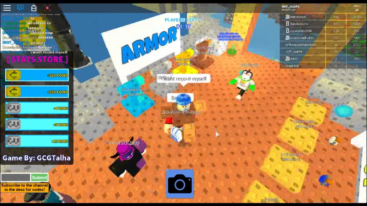 Roblox Skywars (ALL OLD CODES) - YouTube