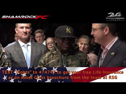 Shamrock FC 323 RSG Tribute to Troops