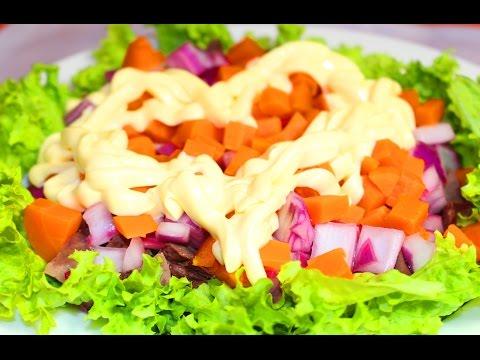 Рецепты салатов с фотографиями с квасолей