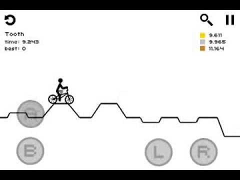 Draw Rider ios iphone gameplay