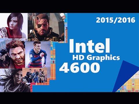 Rendimiento de 16 juegos modernos en una Intel HD Graphics 4600