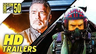 Comic Con 2019 Movie Trailers | Top Gun, Terminator, Jay and Silent Bob | SDCC 2019