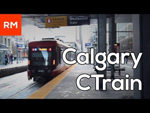 Calgary CTrain | Calgary's Light Rail System