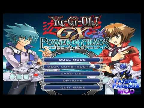 yu gi oh gx power of chaos mod unlock all cards