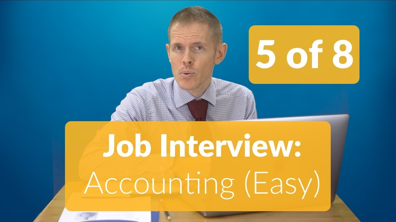 Best English Interview Conversation for Accounting Job ...