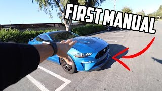 Teaching a SUBSCRIBER how to drive his 2019 Mustang GT!