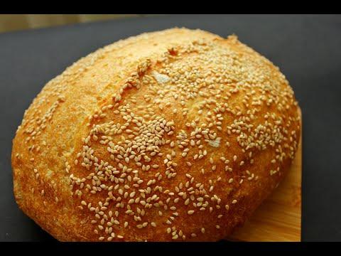 КУКУРУЗНЫЙ ХЛЕБ на опаре пулиш по рецепту Дж.Хамельман ☆ Диетический хлеб из кукурузной муки
