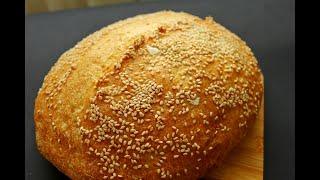КУКУРУЗНЫЙ ХЛЕБ на опаре пулиш по рецепту Дж Хамельман Диетический хлеб из кукурузной муки