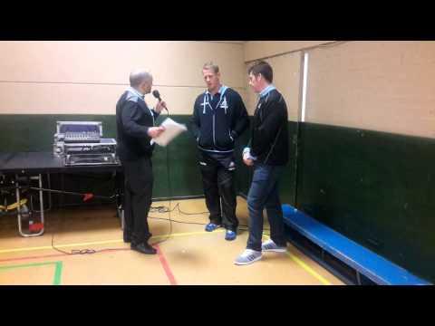 Pre game talk with Mark Bennett & Gregor Hunter