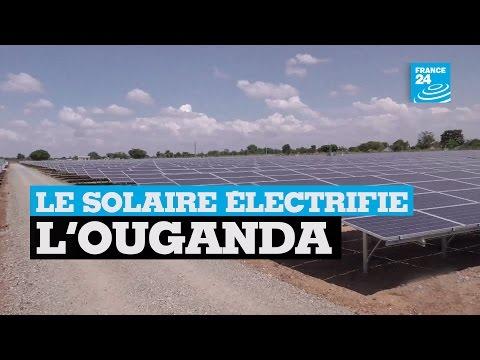 Environnement : le solaire électrifie l'Ouganda