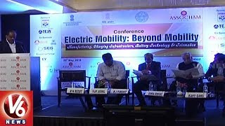 Government Plans To Make Telangana A Hub For Electric Vehicle Manuf...