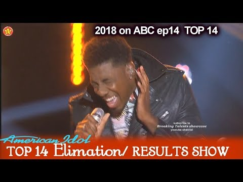 Marcio Donaldson sings Jealous To Impress Judges  American Idol 2018 Top 14 Results Show