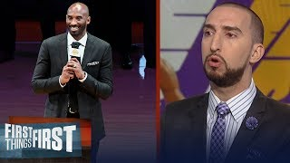 Nick Wright and Cris Carter on the Lakers retiring Kobe