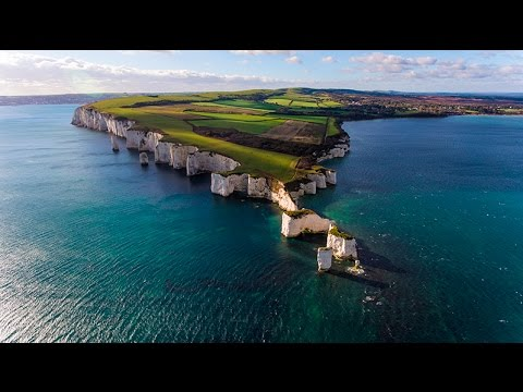 Dorset from the drone 2016
