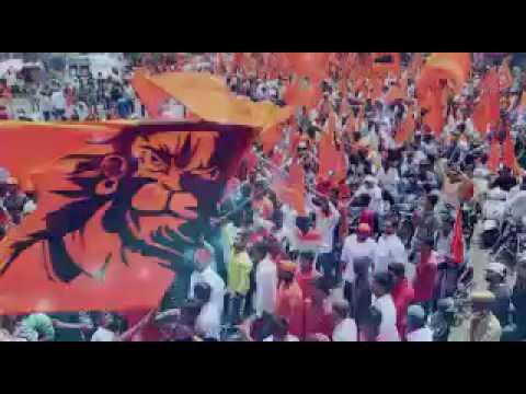 Jai Sriram Siddipet Doodi Srikanth Reddy Hanuman Jayanthi Rally Song