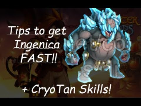 Tips+Tricks for Ingenica! Cost of Event l Cryotan Skills l Forge Secrets Island