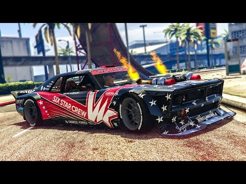 AWESOME DRIFT CAR! - (GTA 5 Mods Funny Moments)