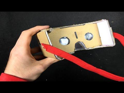 How to Make Virtual Reality Google VR Cardboard