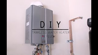 How To Flush Your Tankless Water Heater