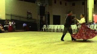 1ºLugar Dança de Salão Cat. Adulto - Chamamé - Rodeio Francisco Beltrão 2014