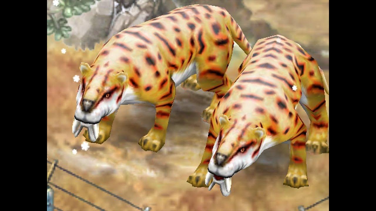 Jurassic Park Builder - Thylacosmilus [Glacier Park] - YouTube