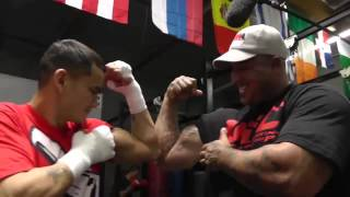 maidana vs mayweather chino rap  song EsNews Boxing
