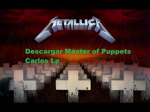 descargar album master of puppets de metallica remasterizado