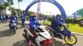 2.118 xe Yamaha Exciter chạy diễu hành lập Kỷ lục Guinness thế giới đã bất thành.
