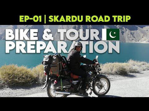 PREPARATION OF BIKE FOR SKARDU ROAD TRIP | EP-01 | LAHORE TO SKARDU – WEB SERIES