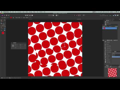 How to create dot patterns in Affinity Photo tutorial