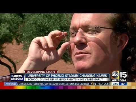 Arizona Cardinals changing name of University of Phoenix Stadium