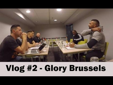 On The Go with Bazooka Joe - Glory Brussels Vlog #2