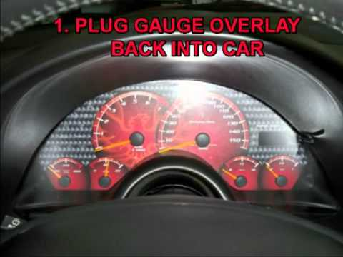 4th Gen Pontiac Trans Am Mcnord Gauge Overlay Installation