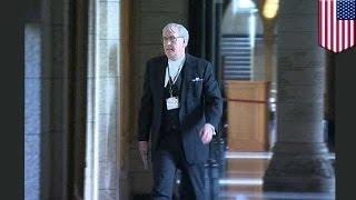 الرقيب كيفن فيكر يقتل المعتدي على البرلمان الكندي في مشهد هوليوودي
